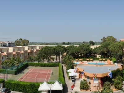 Panoramica del Residence Oasis