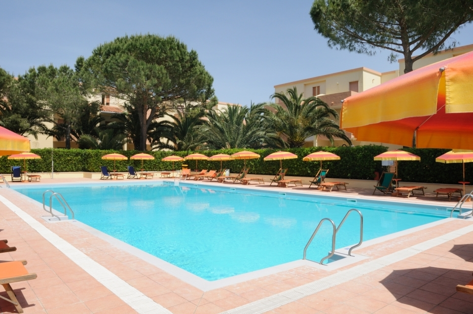 Schwimmbad der Residence Oasis