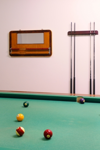 Billiard table of the Residence Oasis
